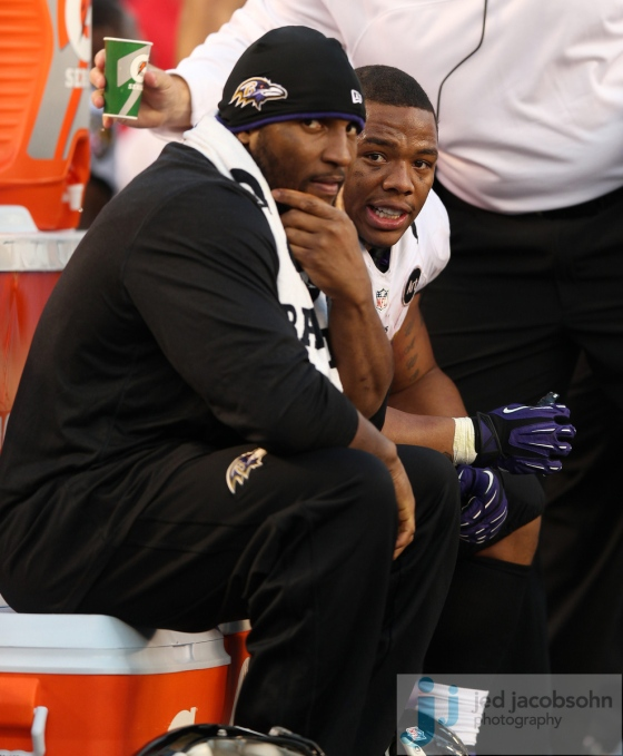 Ray Rice, Ray Lewis